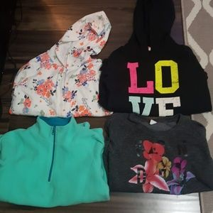 Lot of girl's sweaters